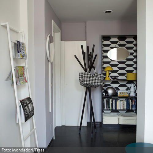 kleiderst nder im eingangsbereich vorzimmer pinterest eingang wohnen und st nder. Black Bedroom Furniture Sets. Home Design Ideas