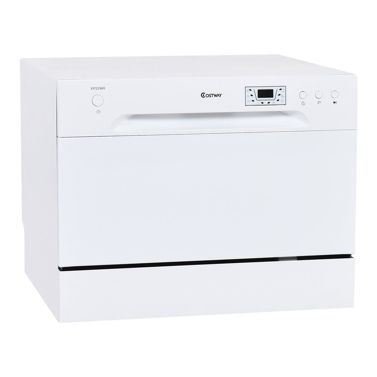 Amazon Com Costway Countertop Dishwasher Stainless Steel 6 Place