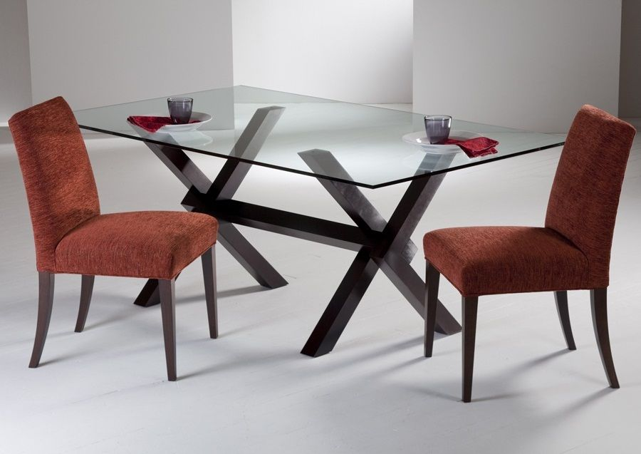 Glass On Recycled Frame Glass Dining Table Glass Dining Room Table Glass Top Dining Table