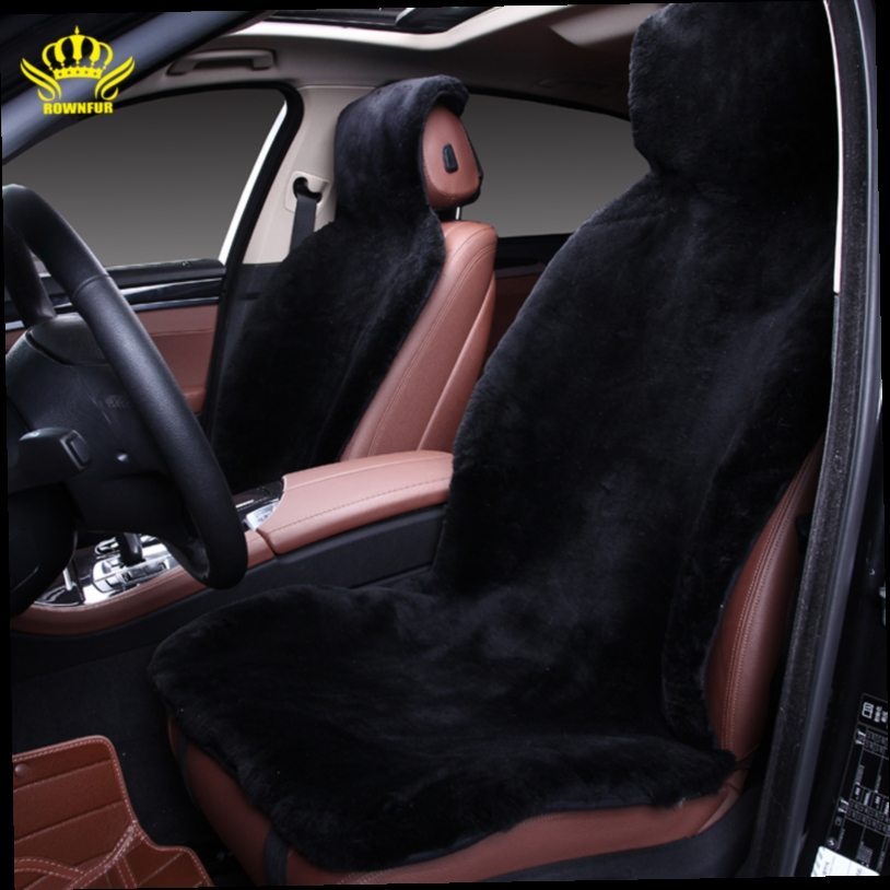 45.00$  Buy here - http://ali3k2.worldwells.pw/go.php?t=32242256430 - free shipping favours winter high quality whole piece of long 100% genuine wool fur sheepskin  car -covers CLASS- 2 c001-b