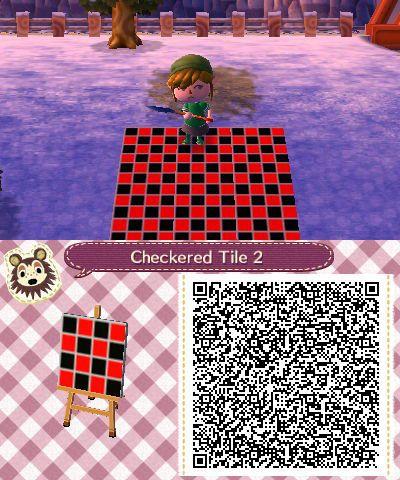 Checkerboard | Animal Crossing New Leaf | Animal crossing