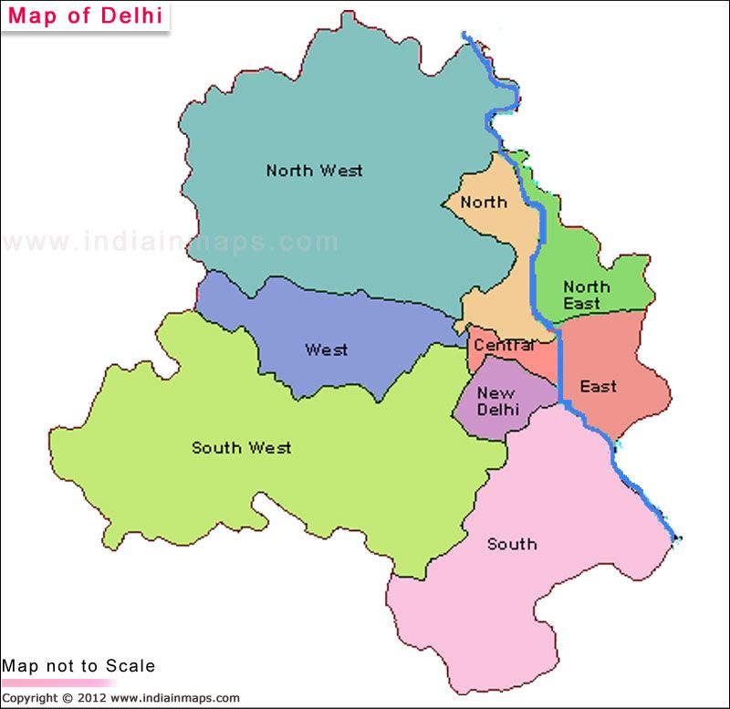 Political Map of New Delhi is showing you the information and - new world map political