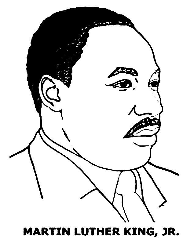 Best Martin Luther King Jr Coloring Pages For Preschoolers http