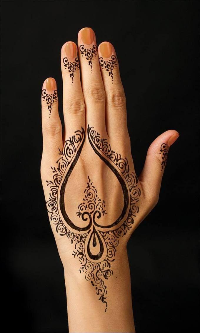 Cara Melukis Tangan Dengan Henna : melukis, tangan, dengan, henna, Henna