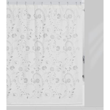 Creative Bath Eyelet Shower Curtain Found At Jcpenney Fabric Shower Curtains