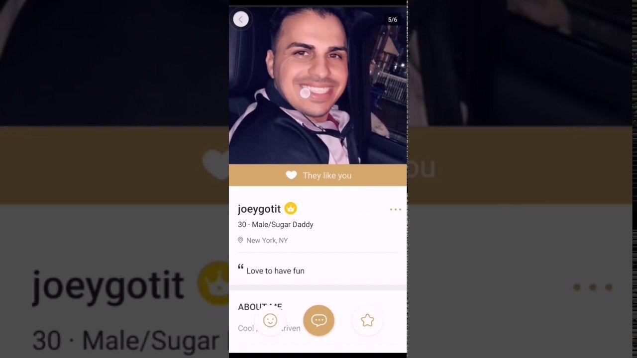 Have you ever used a sugar daddy app or found a sugar