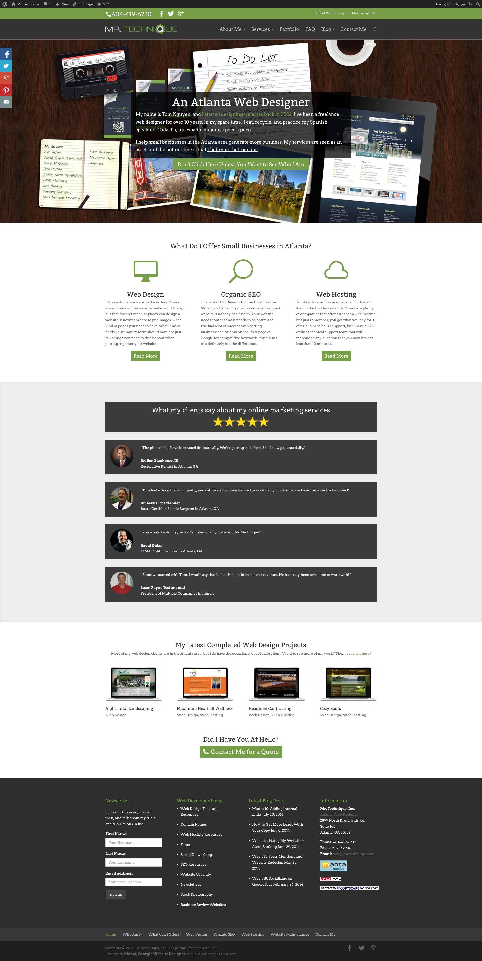 Mr Technique Web Design Divi Wordpress Themes Web Design Company