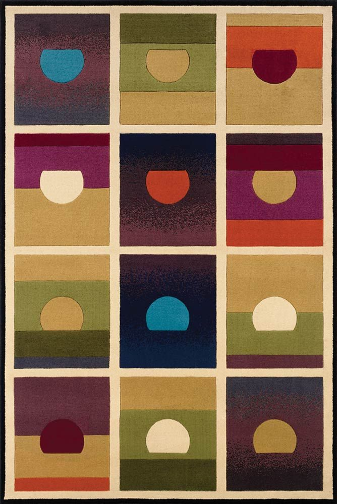Setting Suns Rug From The Andy Warhol Rugs Collection At Modern