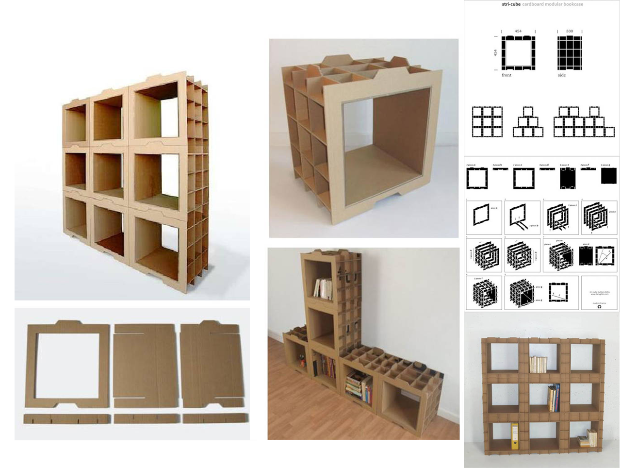 muebles modulares de cart n hazlo tu mismo leer m s http