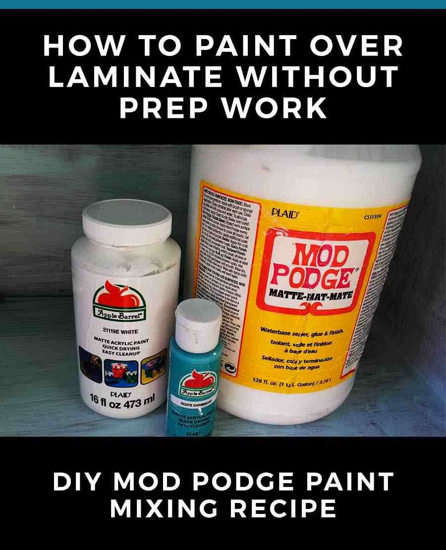 You Can Paint Anything Without Sanding Or Other Prep Work Using