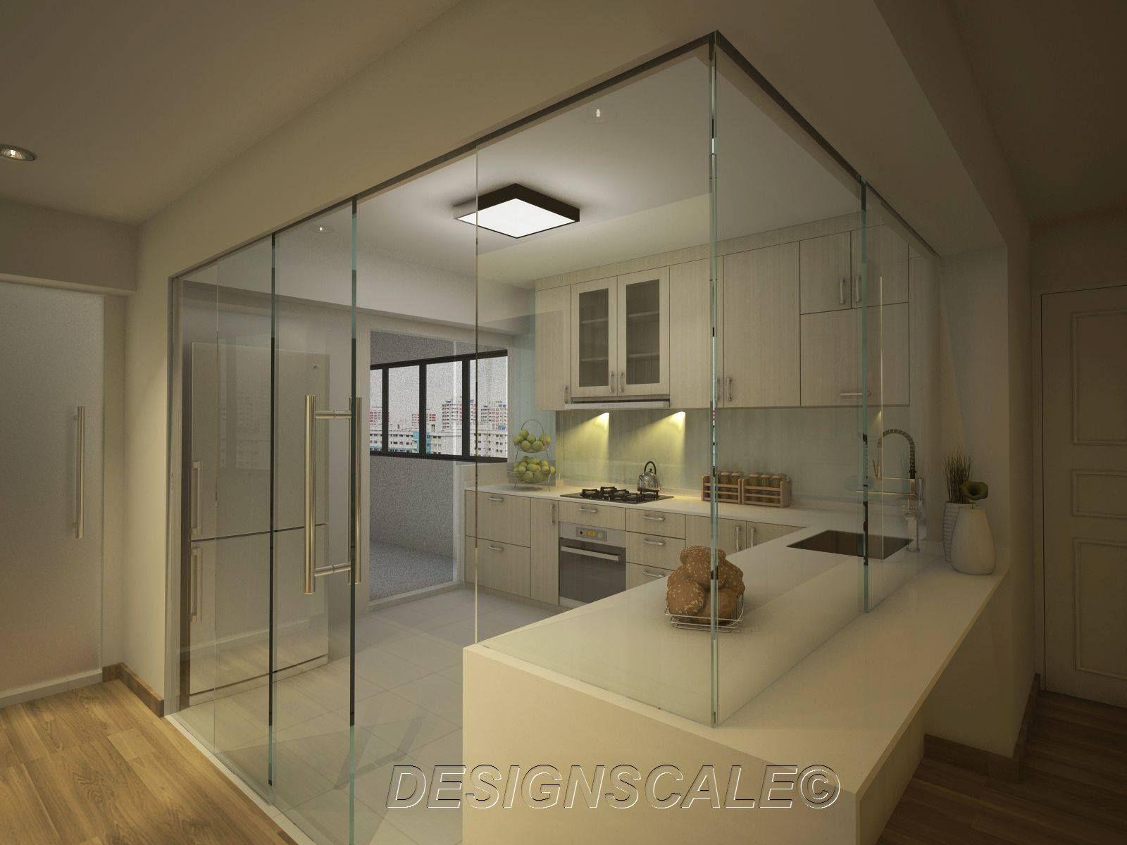 designscale Resale 5-Room HDB Serangoon 3 | kitchen | Pinterest ...