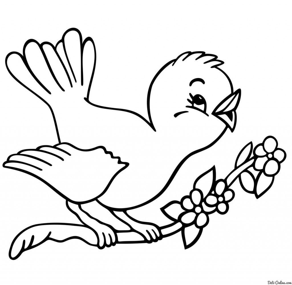Vesna Krasna Raskraski Feodorovskij Prihod V Poselke Yantarnyj Bird Coloring Pages Animal Coloring Pages Spring Coloring Pages
