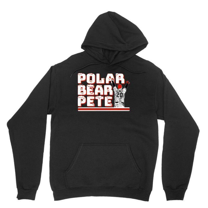 pete alonso polar bear Unisex Hoodie#alonso #bear #hoodie #pete #polar #unisex