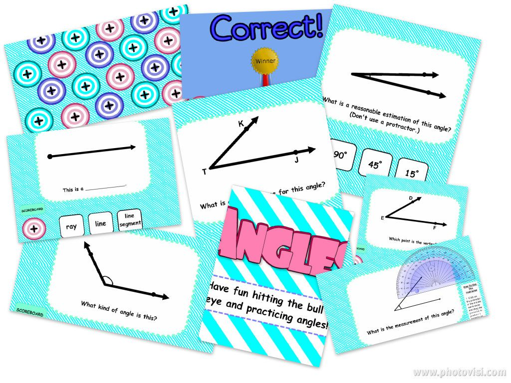 Angles SMART BOARD Game   Smart boards, Common cores and Students
