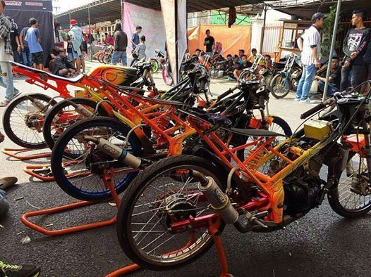 Barisan Petarung Team Orange Op27 Motor Rannalt Racing Ambon
