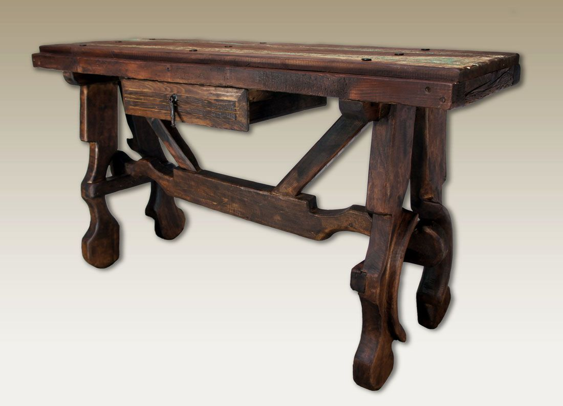 Old door console table western sofa tables authentic old door old door console table western sofa tables authentic old door and yoke no geotapseo Image collections