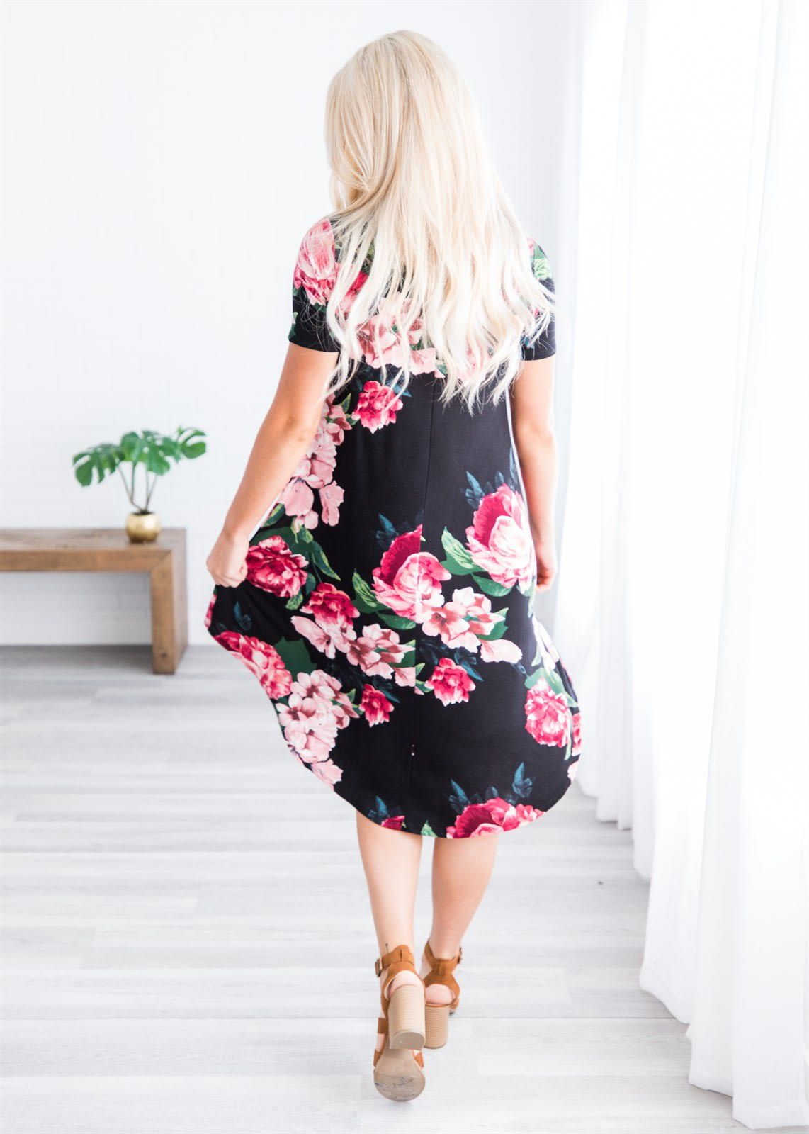 Hope floral midi sxl in my fashion style pinterest