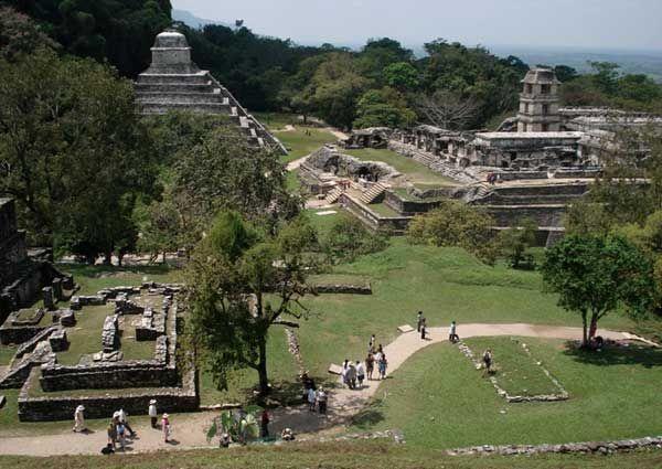 Ruinas de Palenque, Chiapas