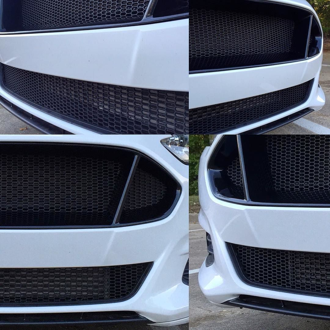 Project complete Lower grill mesh installed and blocked off