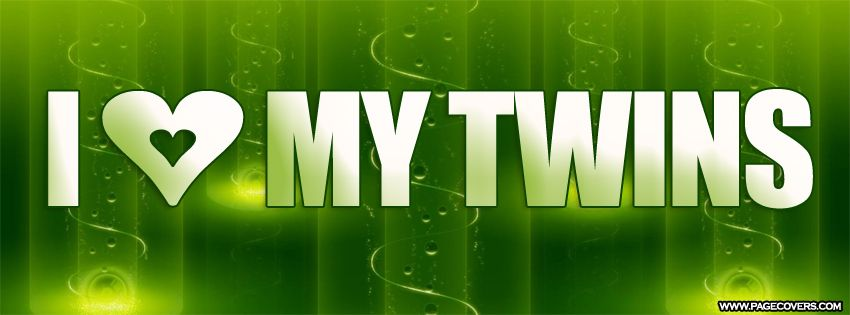 I Love My Twins Facebook Cover Twins