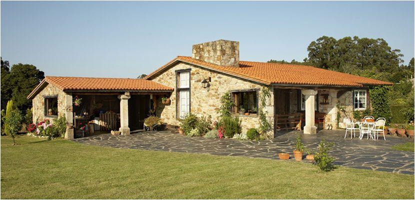 Construcciones r sticas gallegas casas r sticas de - Fachadas de casas rusticas ...