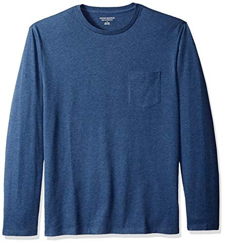 415126cb4b99 Buy Amazon Essentials Men s Regular-Fit Long-Sleeve Pocket T-Shirt. Explore