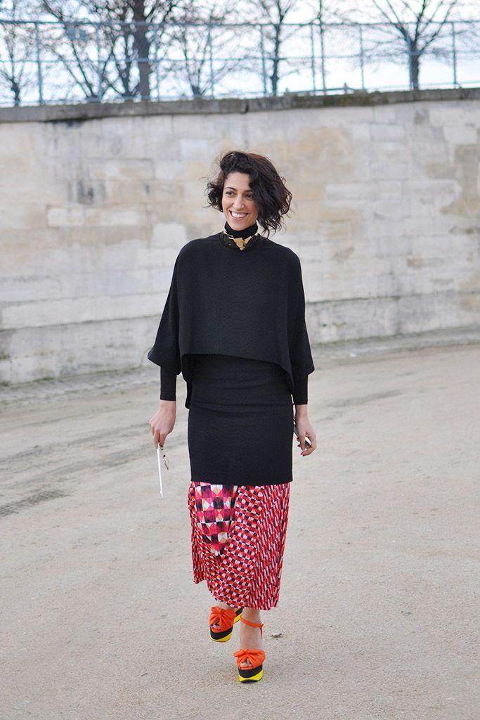 Yasmin Sewell In Geometric Print Skirt Trendycrew Fashion Street Style Street Style Blog