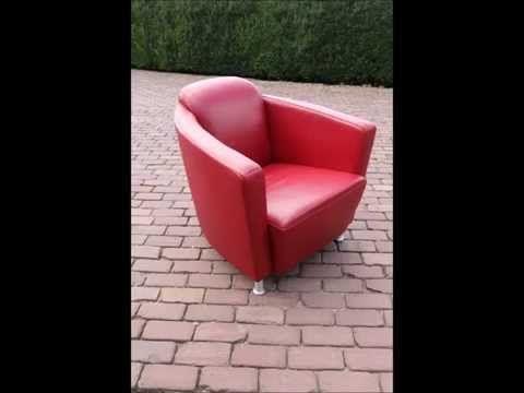 Upholstery Een Leren Fauteuil Herstofferen Youtube Fauteuil