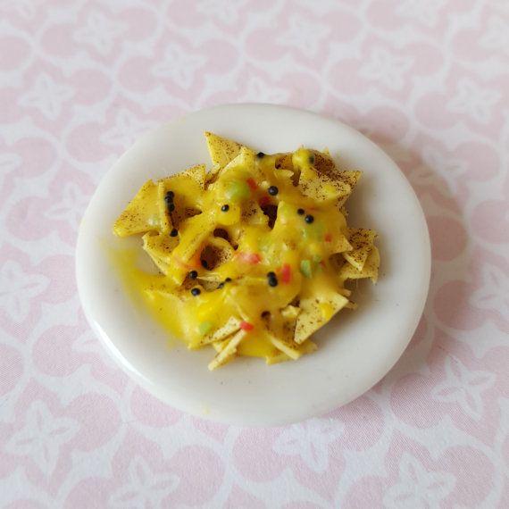 Dollhouse Miniature Artisan Nacho Cheese Set