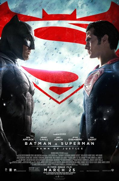蝙蝠俠對超人:正義曙光 (Batman v Superman: Dawn of Justice) 2016-04-01 ★★☆