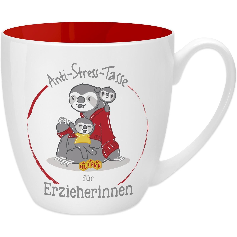 Schöne Kaffeetasse Von Gruss Co Anti Stress Tasse Faultier 45 Cl Geschenk Spülmaschinengeeignet Aus Porzellan 9 5 Anti Stress Kaffeebecher To Go Stress