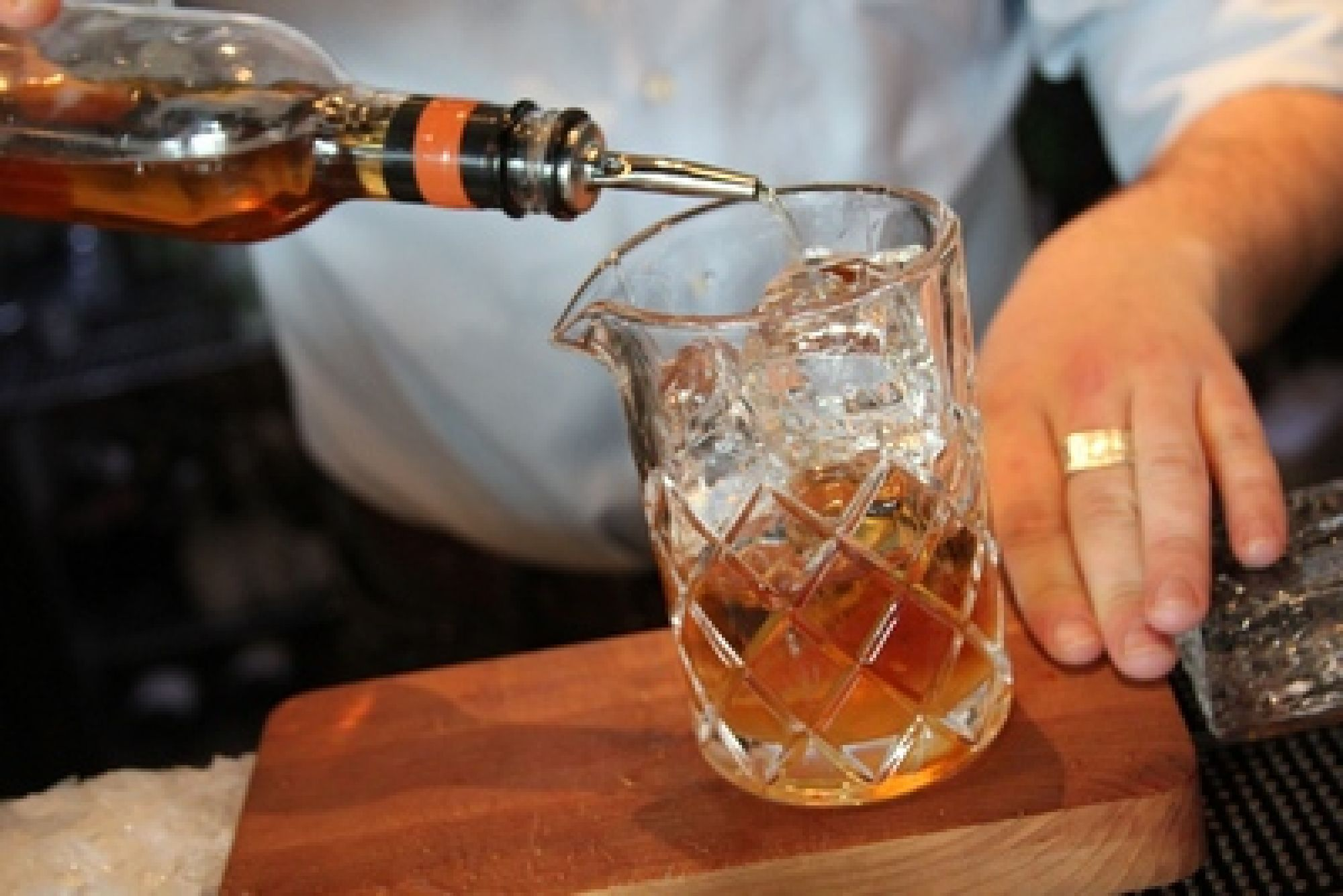 Rye Whiskey Simple Syrup Recipe | SAVEUR