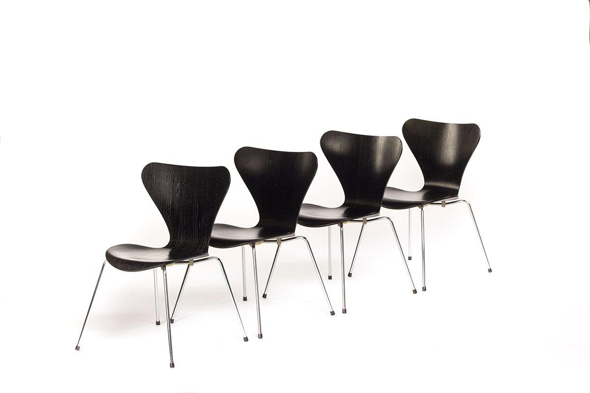 Vlinder Bureaustoel Arne Jacobsen.Vintage Furniture Base Vintage Design Meubels In Rotterdam