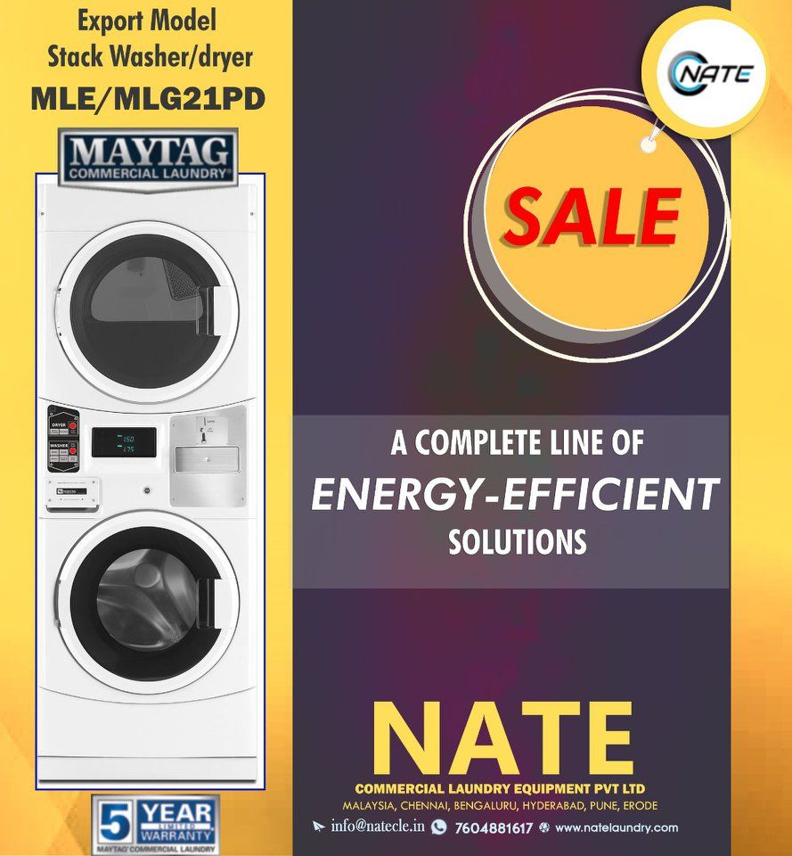 Imported Commercial Laundry Machine 10 Off 5 Year Warranty