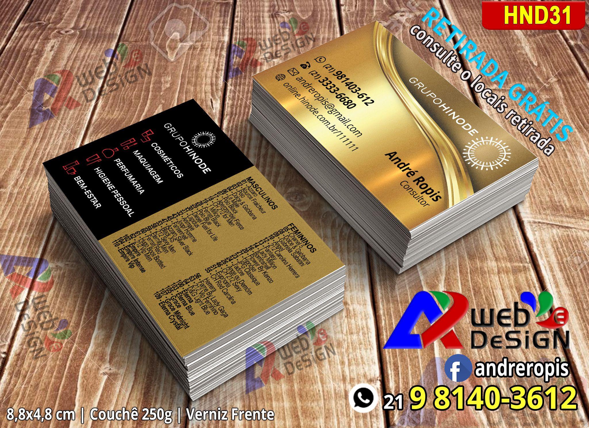 Favoritos Cartão de Visita Grupo Hinode (21) 981403612 - Face: andreropis  IN21