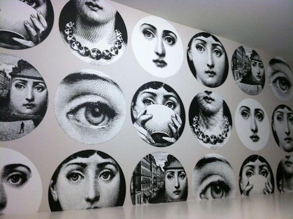 Fantastic Piero Fornasetti Wallpaper At The Cosmopolitan Las Vegas - Piero fornasetti wallpaper designs