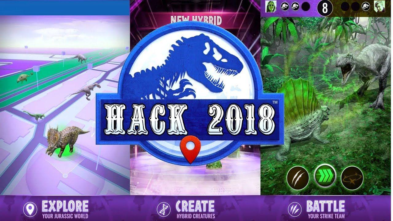 Jurassic World The Game Hack Apk August 2018 No Survey No Password