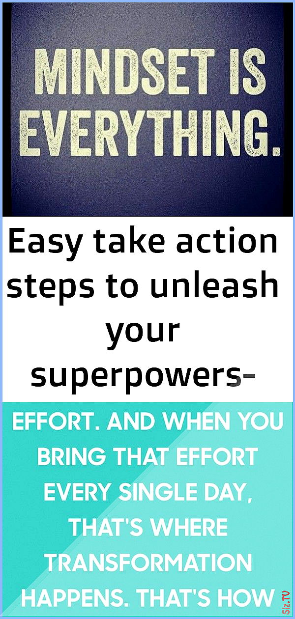 Easy take action steps to unleash your superpowers- free for limited time 71 Easy take action steps...