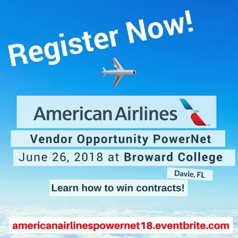 American Airlines Vendor Opportunity