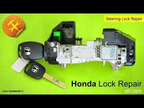Honda Ignition Lock Repair Youtube Lock Repair Repair Honda Accord