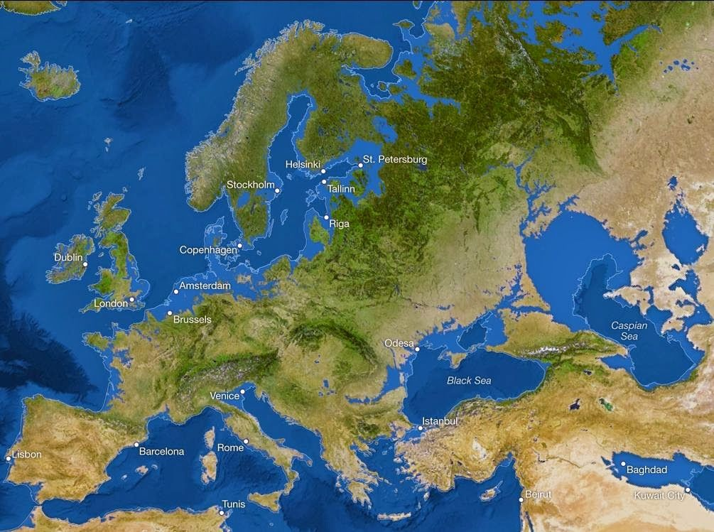 europe sea level rise mapjpg 1005749 pixels