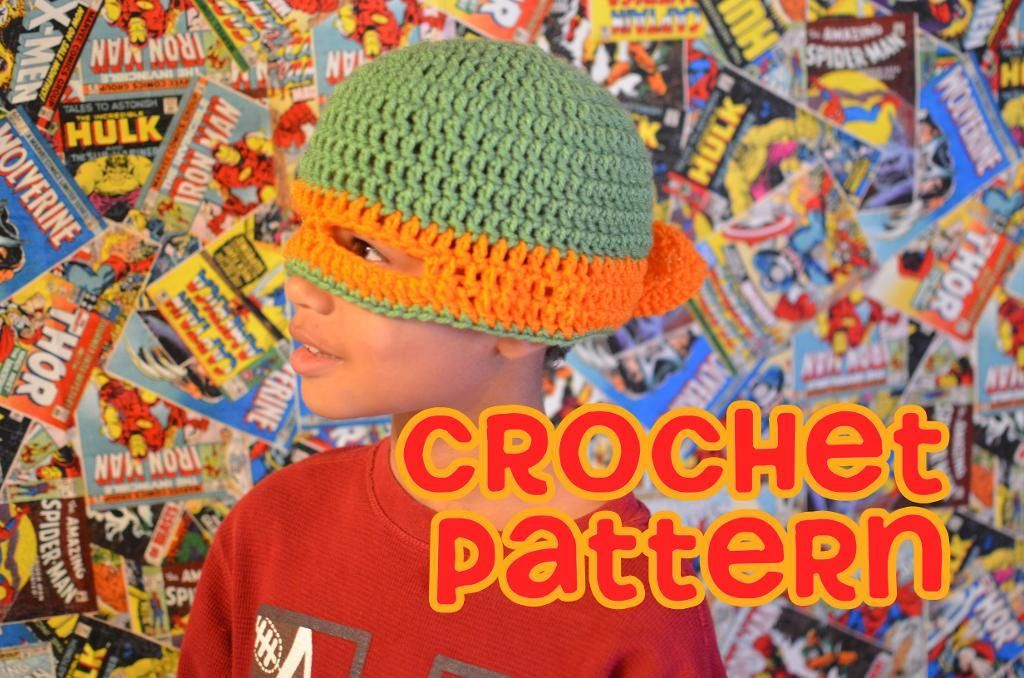 Crochet Teenage Mutant Ninja Turtle Hat Pattern Gallery Knitting