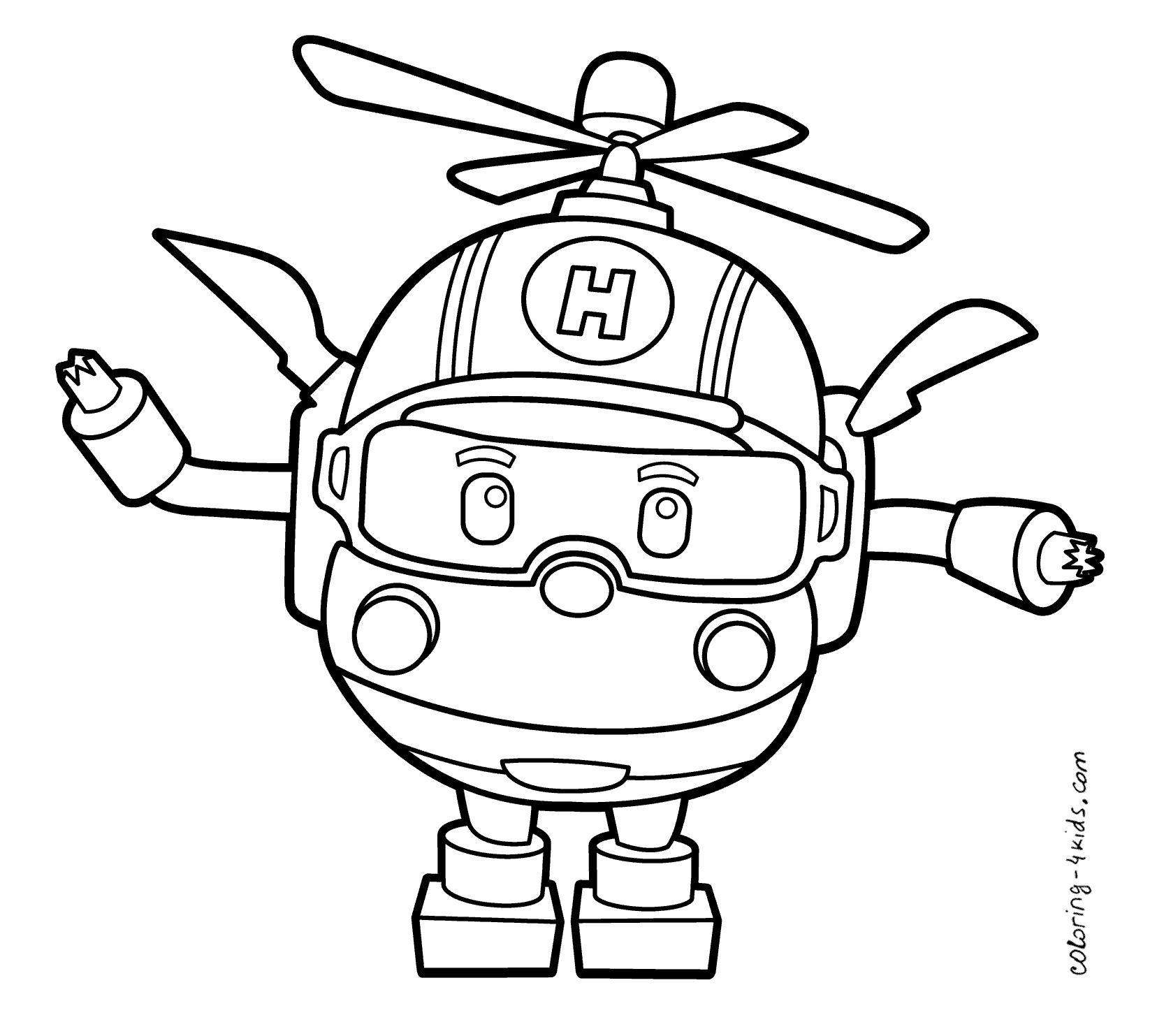 Fine Coloring Page Robocar Poli That You Must Know You Re