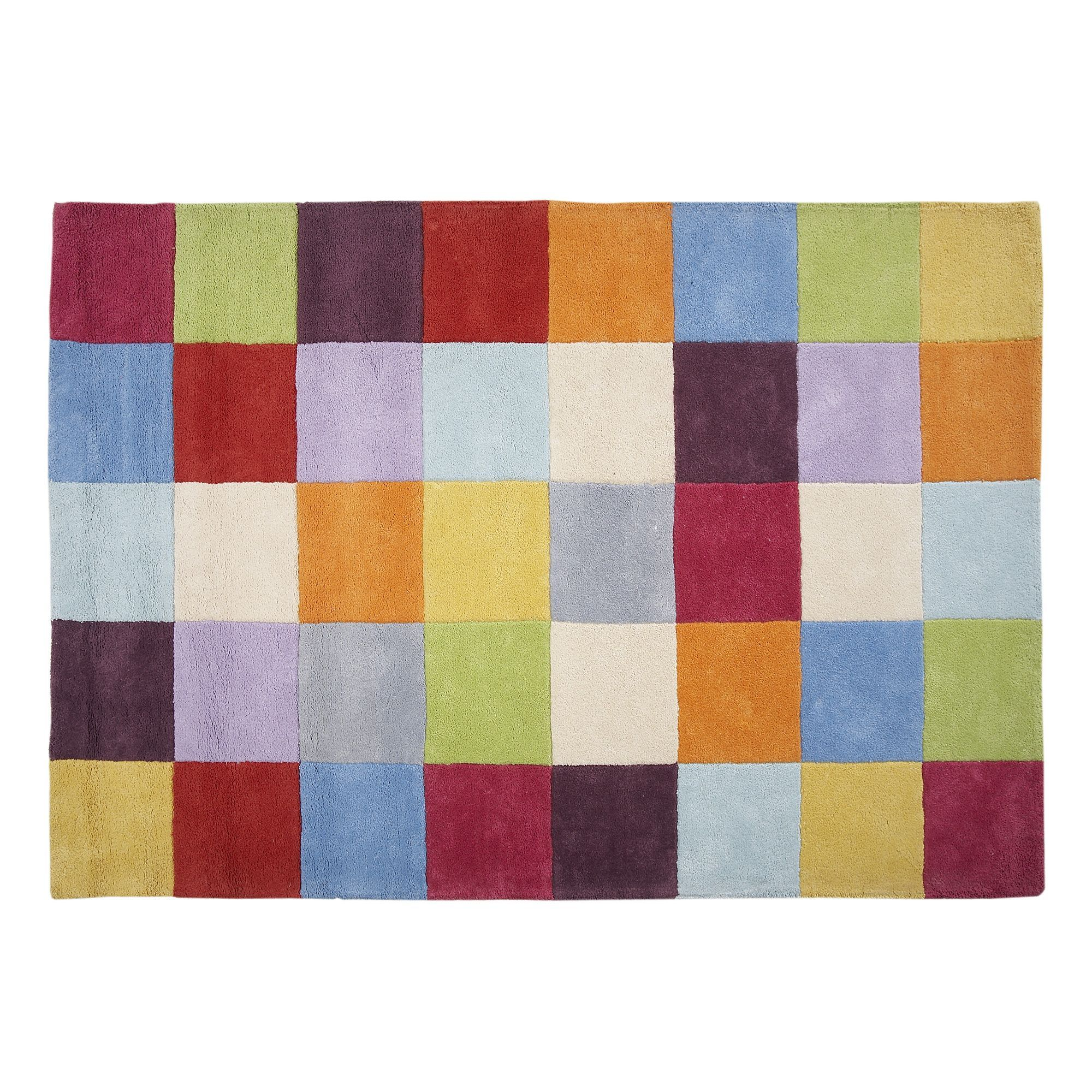 tapis multicolore 140x200cm multicolore game les tapis. Black Bedroom Furniture Sets. Home Design Ideas