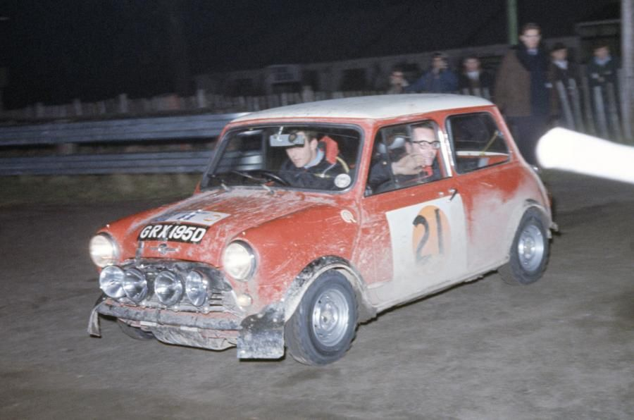 1966 monte carlo rally mini timo makinen - Google Search | BMC ...