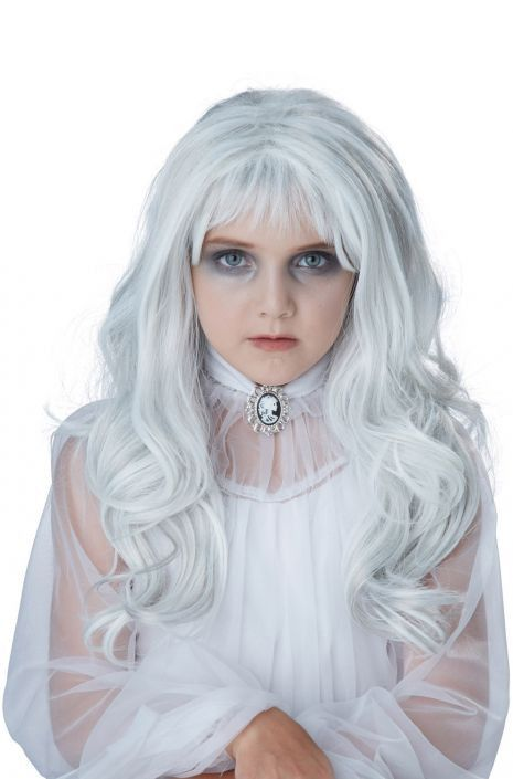 Ghostly Girl Wig #deguisementfantomeenfant