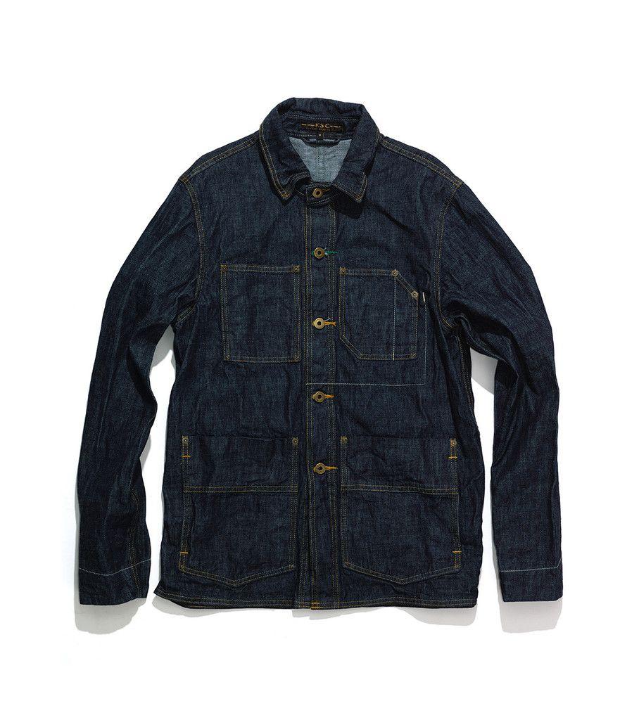 Freemans Sporting Club — Chore Jacket Denim inspiration