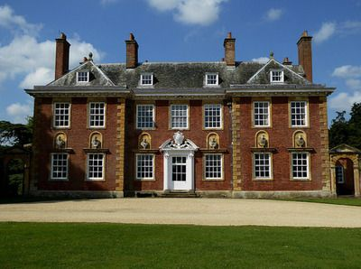 Honington Hall, Honington, nr. Stratford on Avon, Warwickshire. Grade I listed. Sold by the Gibbes family, c.1670 to Henry Parker who in 1696 succeeded to the Parker Baronetcy. The present house, built by Parker in 1682, sold by Parker's grandson in 1737 to Joseph Townsend who carried out considerable alterations - mid 18th century. The Townsend's held the estate until 1905 when it passed by marriage to Sir Grey Skipwith Bt. It later became the seat of the Wiggin family.
