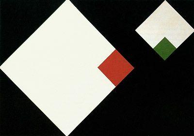 Concreto 1958 | Geraldo de Barros esmalte sobre eucatex 49.00 x 71.00 cm