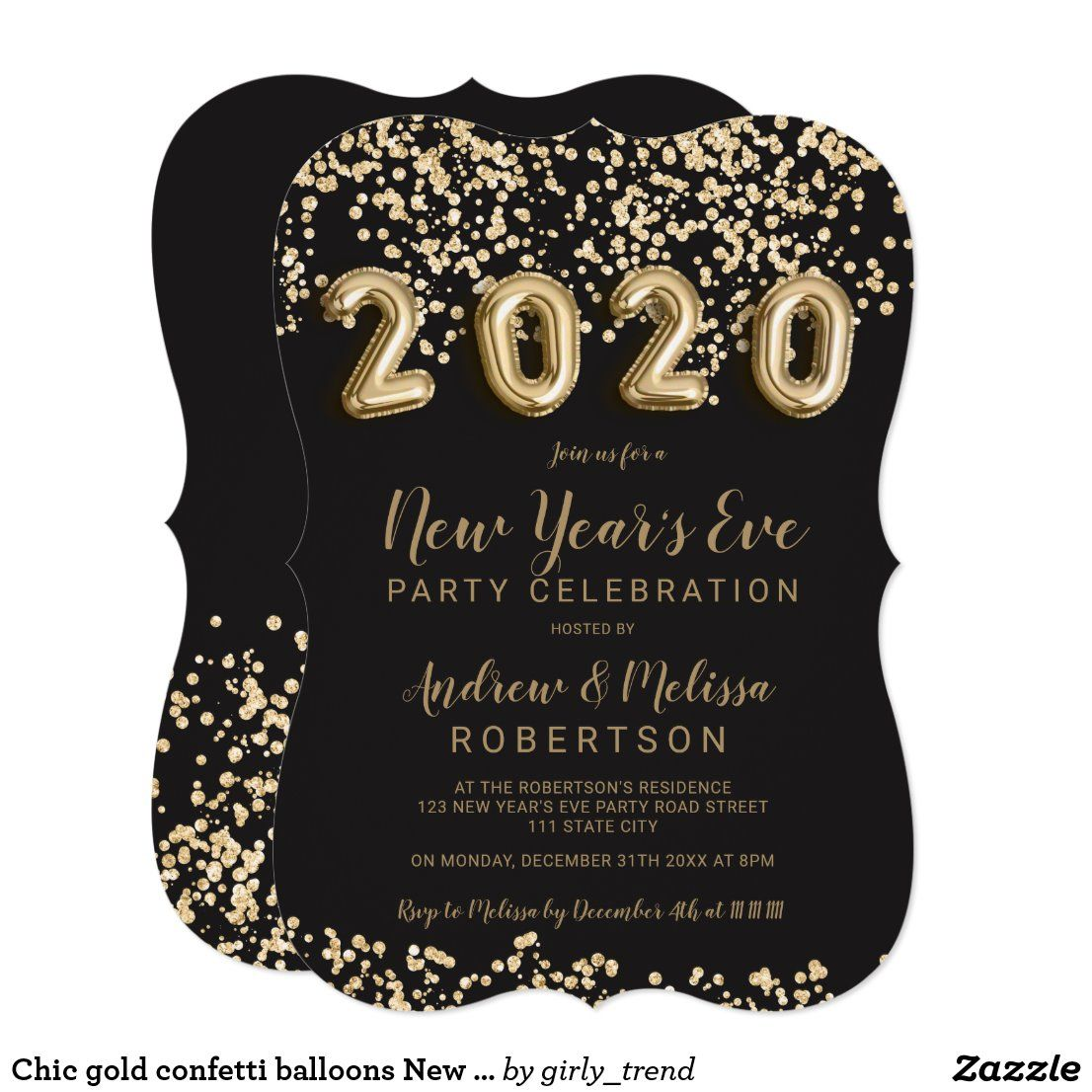 400+ Best New Years Eve Invitations images | new years eve invitations,  beautiful invitations, invitations